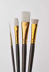 Donna Dewberry 4 Piece Glass Brush Set