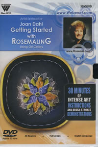 Getting Started with Rosemaling in Oils 1 Hour DVD