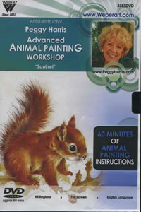 Advanced Animal Painting Workshop DVD 1 Hour