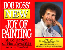 New Joy of Painting Bob Ross Book