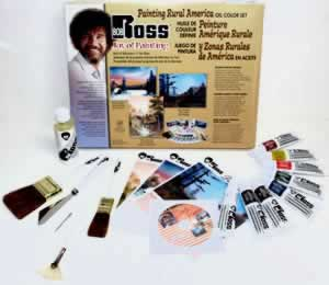Bob Ross Painting Rural America Paint Set