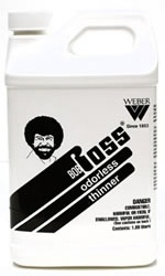 Bob Ross Odorless Paint Thinner 1/2 Gallon