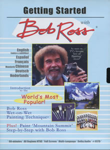 Bob Ross 1 Hour Instructional DVD