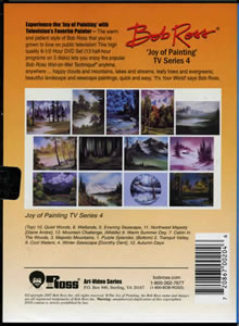 Joy of Painting Series 4 DVD