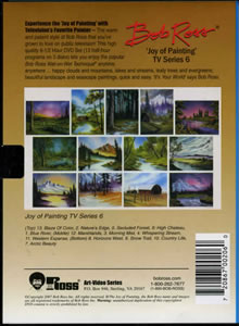Joy of Painting Series 6 DVD