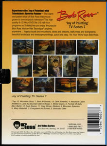 Joy of Painting Series 7 DVD