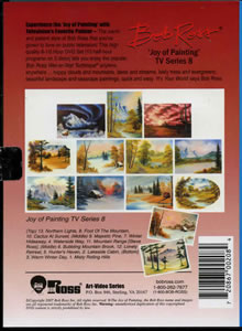 Joy of Painting Series 8 DVD