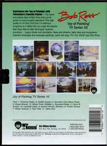 Joy of Painting Series 10 DVD