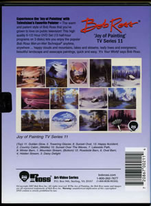 Joy of Painting Series 11 DVD