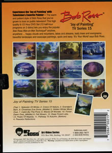 Joy of Painting Series 15 DVD