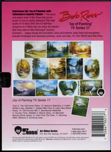 Joy of Painting Series 17 DVD