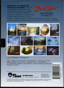 Joy of Painting Series 21 DVD