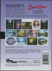 Joy of Painting Series 23 DVD