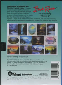 Joy of Painting Series 24 DVD
