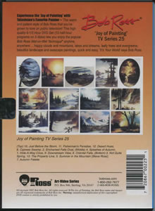 Joy of Painting Series 25 DVD