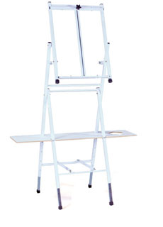 Bob Ross 2 in 1 Floor Table Combination Easel