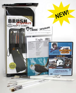 Bob Ross Wildlife Gift Set - Hofcraft Exclusive!