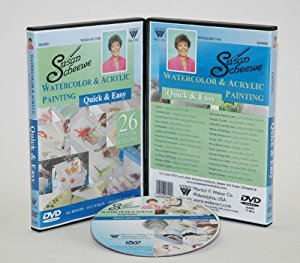 Susan Scheewe Watercolor and Acrylic Painting DVD