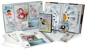 Susan Scheewe Deluxe Watercolor Painting Set