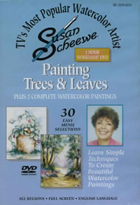 Painting Trees and Leaves 3 Hour Workshop DVD Front Cover