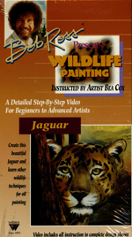 Bob Ross Getting Started Wildlife Painting VHS