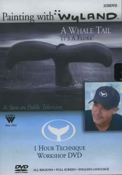 Painting with Wyland A Whale Tail DVD