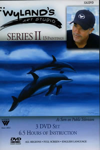 Wyland Marine Life Instructional Painting DVD Orcas