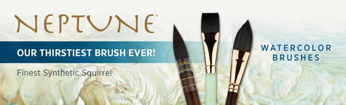 Princeton Neptune Watercolor Brushes