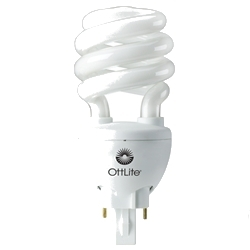 20 Watt Swirl Ballasted Bulb by Ott-Lite