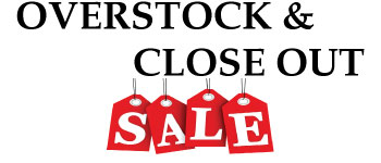 Overstock and Closeout Sale 2014