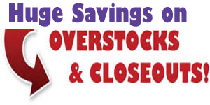 Save on Overstock and Closeout Art and Craft Supplies