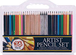 ProArt 36 Color Pencil Set