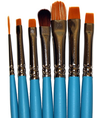 Princeton Select Artiste Basic Blending Brush Set