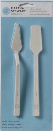 Martha Stewart Crafts Palette Knife Set 2 Piece