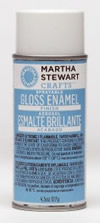 Martha Stewart Crafts Spray Enamel