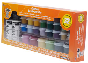 Plaid 32 Color Enamel Value Pack