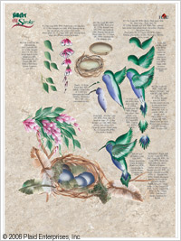 One-Stroke Learn to Paint Worksheet Pack - Garden Friends