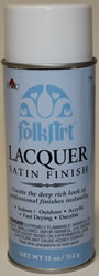 Satin Finish Lacquer 11 oz