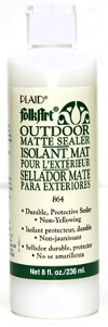 Plaid FolkArt Outdoor Matte Sealer