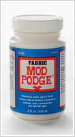 Plaid Fabric Mod Podge 8 oz