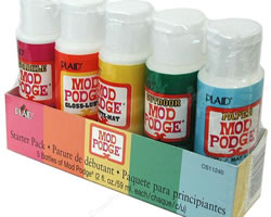 Plaid Mod Podge Starter Set