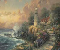 The Light of Peace, Thomas Kinkade