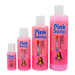 Mona Lisa Pink Soap