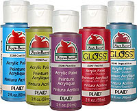 Plaid Apple Barrel Gloss Bottles
