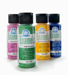 Plaid FolkArt Enamels, 2 oz