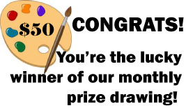 Monthly Prize Drawing