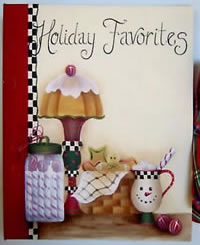 Holiday Favorites Recipe Book Pattern