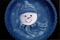 Snowman and Snowflakes Packet