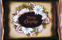 Merry Christmas Serving Tray Packet by Julie Polderdyke