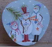 Snowman Christmas Party Wedgewood Box Packet by Shara Reiner